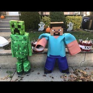 prestige Costumes - The Minecraft Steve Prestige Child Costume & prestige Costumes | The Minecraft Steve Child Costume | Poshmark
